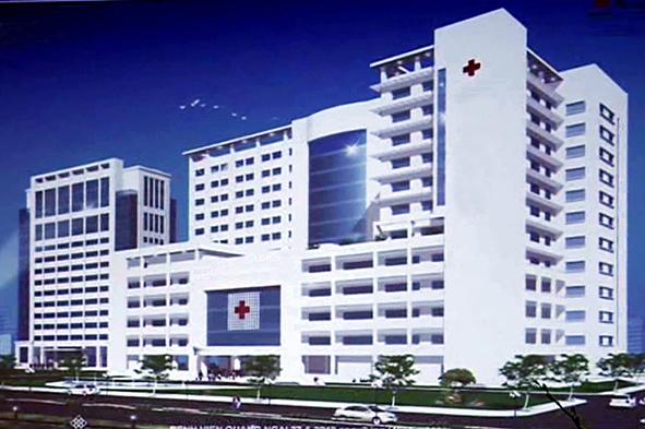 Bệnh viện đa khoa trong KĐT Nam Vĩnh Yên